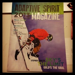 Feature in Adaptive Spirit 2013 Magazine